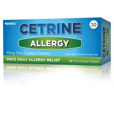Cetrine Allergy 10mg Tablets -  30 Pack -1004141 OTC