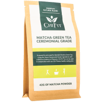 Chi Fit Matcha Green Tea Ceremonial Grade 42g - (14 cups)