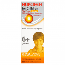 Nurofen For Children 6+ Suspension Orange - 200ml - 1015278 OTC