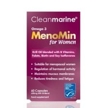 Clean Marine Menomin For Women - 60 Capsules