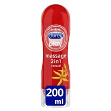 Durex Play 2in1 Sensual Massage Gel & Lubricant - 200ml