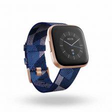 Fitbit Versa 2 - Navy & Pink Woven