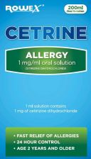 Cetrine Allergy Liquid - 200ml 2011911 OTC