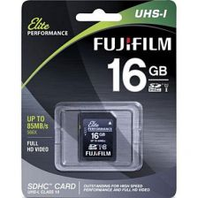 Fujifilm Memory Card SDHC UHS-1 16Gb