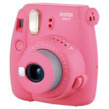 Fujifilm Instax Mini 9 Instant Camera Flamingo Pink + 10 Shots