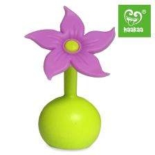 Haakaa Silicone Pump Flower Stopper Lilac