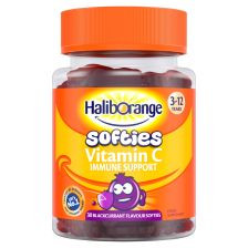 Haliborange Kids Vitamin C Immune Support Blackcurrant Softies 30
