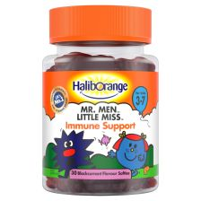 Haliborange Mr Men Little Miss Immune Support Blackcurrant Softies - 30 Pack