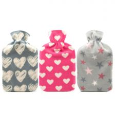 Hot Water Bottle & Trend Fleece Cover
