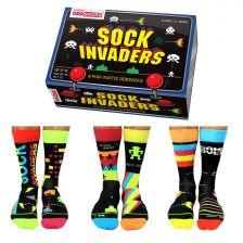 Sock Academy Sock Invaders Odd Socks