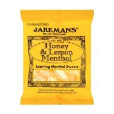 Jakemans Honey & Lemon Menthol 100g
