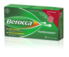 Berocca Exotic Flavour Effervesent Tablets 30