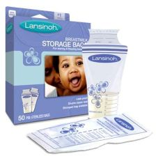 Lansinoh Breastmilk Storage Bags - 25 Pack