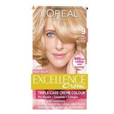 L'Oreal Excellence Creme - Natural Light Blonde 9
