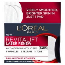 L'Oreal Revitalift Laser Renew Glycolic Peel Pads