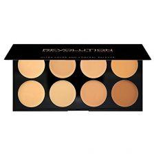 Makeup Revolution Ultra Cover & Concealer Palette Lgt/Med