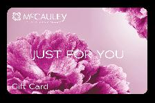McCauley Gift Card - Flowers