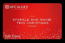 McCauley Sparke & Shine Gift Card
