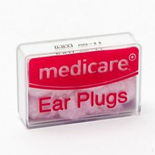 Medicare Ear Plugs Wax Cotton (8 Pack)