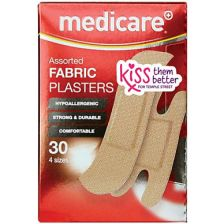 Medicare Plasters Fabric (30 Pack)