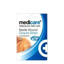 Medicare Wound Closure Strips - 2pks 5 strips