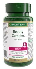 Nature's Bounty Beauty Complex with Biotin - 60 Capsules