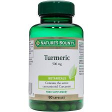 Nature's Bounty Turmeric 500mg - 60 Capsules