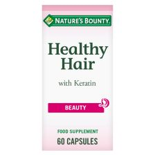 Natures Bounty Healthy Hair With Keratin