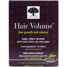 New Nordic Hair Volume Tabs 30s