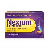 Nexium Control Tablets 20mg - 14 Tablets - 1013348 OTC