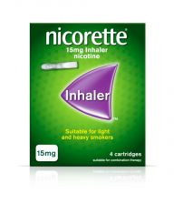 Nicorette Inhaler 15mg - 4 Cartridges 9077751 OTC