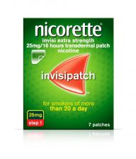 Nicorette Invisi Patch 25mg - 7 Pack 9861725 OTC