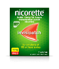Nicorette Invisi Patch 15mg - 7 Pack 9861717 OTC