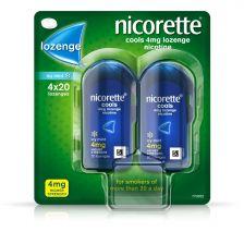 Nicorette Cools 4mg Lozenge  - 80 Pack OTC 9117466