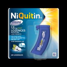 Niquitin Mini 1.5mg Lozenge Otc - 20