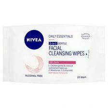 Nivea V Essentials Facial Wipes Sensitive (25)