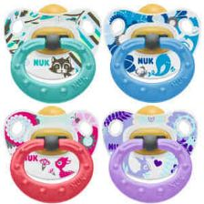 Nuk Happy Kids Latex Soother Stage 1 0-6M (2)