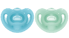Nuk Sensitive Soother G/B Size 2