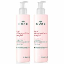 NUXE Rose Comfort Cleansing Milk Duo 200ml