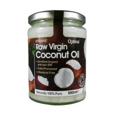 Optima Raw Virgin Coconut Oil 500ml