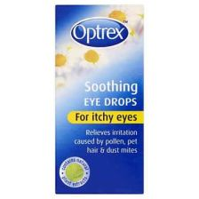 Optrex Soothing Eye Drops Itchy Eyes