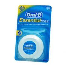 Oral-B Essential Waxed Dental Mint Floss