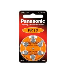 Panasonic Hearing Aid Battery PR13H (6)