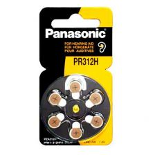 Panasonic Hearing Aid Battery PR312H (6)