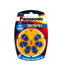 Panasonic Hearing Aid Battery PR675H (6)