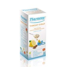 Pharmony Throat Syrup 4+ Months 100ml
