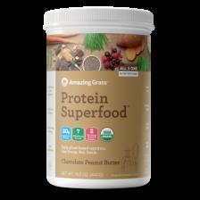 Amazing Grass Organic Superfood Choc Peanut Butter - 440G