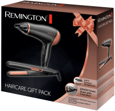 Remington Gift Set Rose Gold Haircare Gift Pack - Straightener and Hair Dryer
