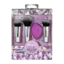 Real Techniques Sparkle On-The-Go Brush Set