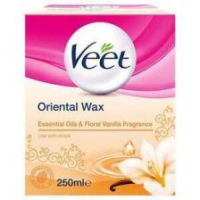 Veet Oriental Wax Essential Oils & Floral Vanilla 250ml